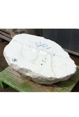 Stone Opaque White alabaster 32''x25''x12'' 672lb Stone