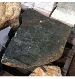 Mother Nature Stone Green/Black Granite With Small Crystals 22''x15''x19'' 205lb Stone