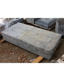 Mother Nature Stone Belgian Black Marble 55''x27''x9'' 1180lb Stone