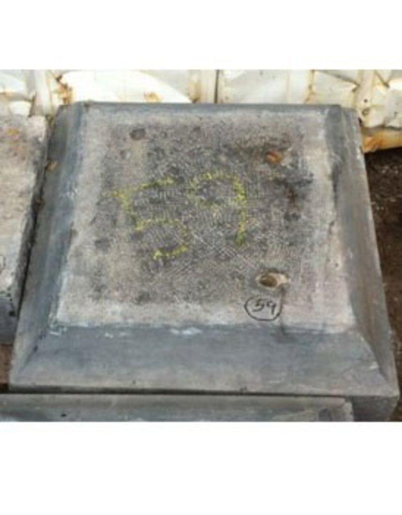 Stone Belgian Black Marble 23''x21.5''x6.5'' 262lb Stone