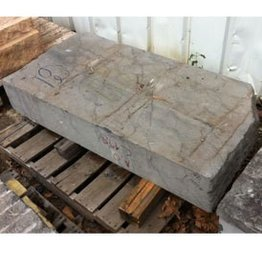 Mother Nature Stone Belgian Black Marble 55''x27''x10'' 1200lb Stone