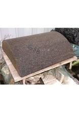 Mother Nature Stone Reddish Brown Granitic Porphery 31.5''