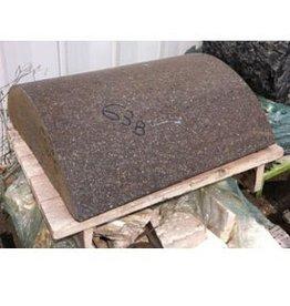 Mother Nature Stone Reddish Brown Granitic Porphery 31.5''x31.5''x11'' 750lb Stone
