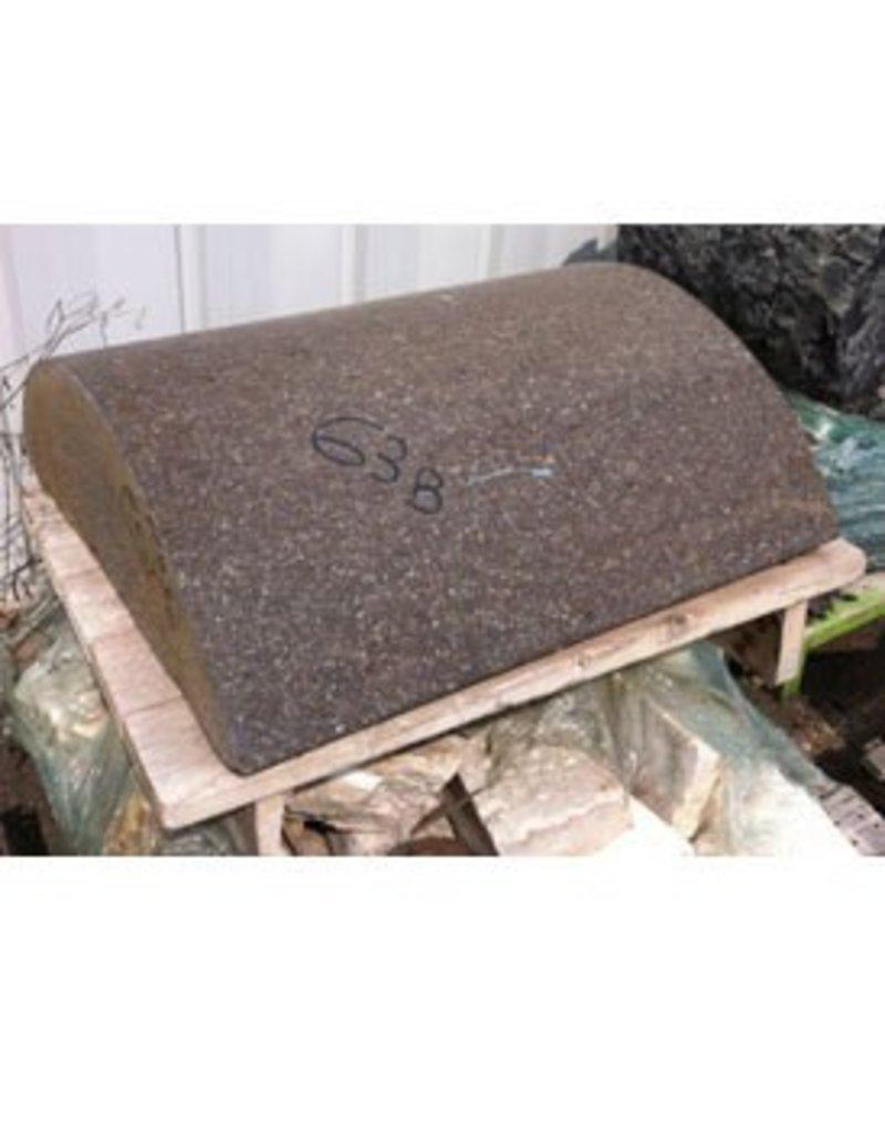 Stone Reddish Brown Granitic Porphery 31.5''