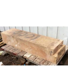 Mother Nature Stone Pink And Tan Banded Sandstone 63''x17''x11.5'' 1000lb Stone