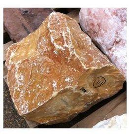 Mother Nature Stone Giallo Siena Marble 14''x12''x9'' 130lb Stone