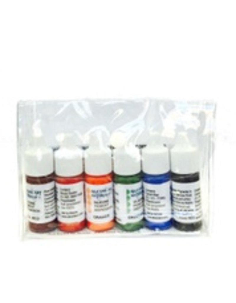 SAM Silicone Dispersion Secondary 7ml 6pc Set