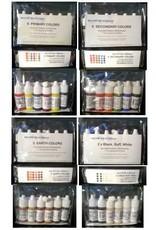 silicone art materials Silicone Dispersion Secondary 7ml 6pc Set