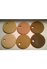 silicone art materials Silicone Dispersion Skin Tone 7ml Set (6 Skin Tones)