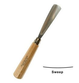 Sculpture House Inc. #3 Straight Wood Gouge 1/2'' (12.5mm)
