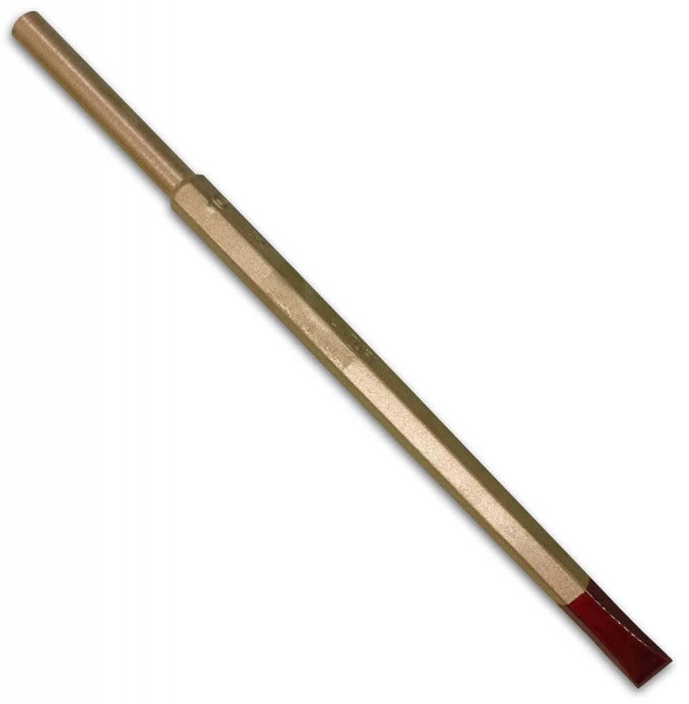Cuturi Carbide Pneumatic Flat Chisel 10mm (7.5mm shank-type E)