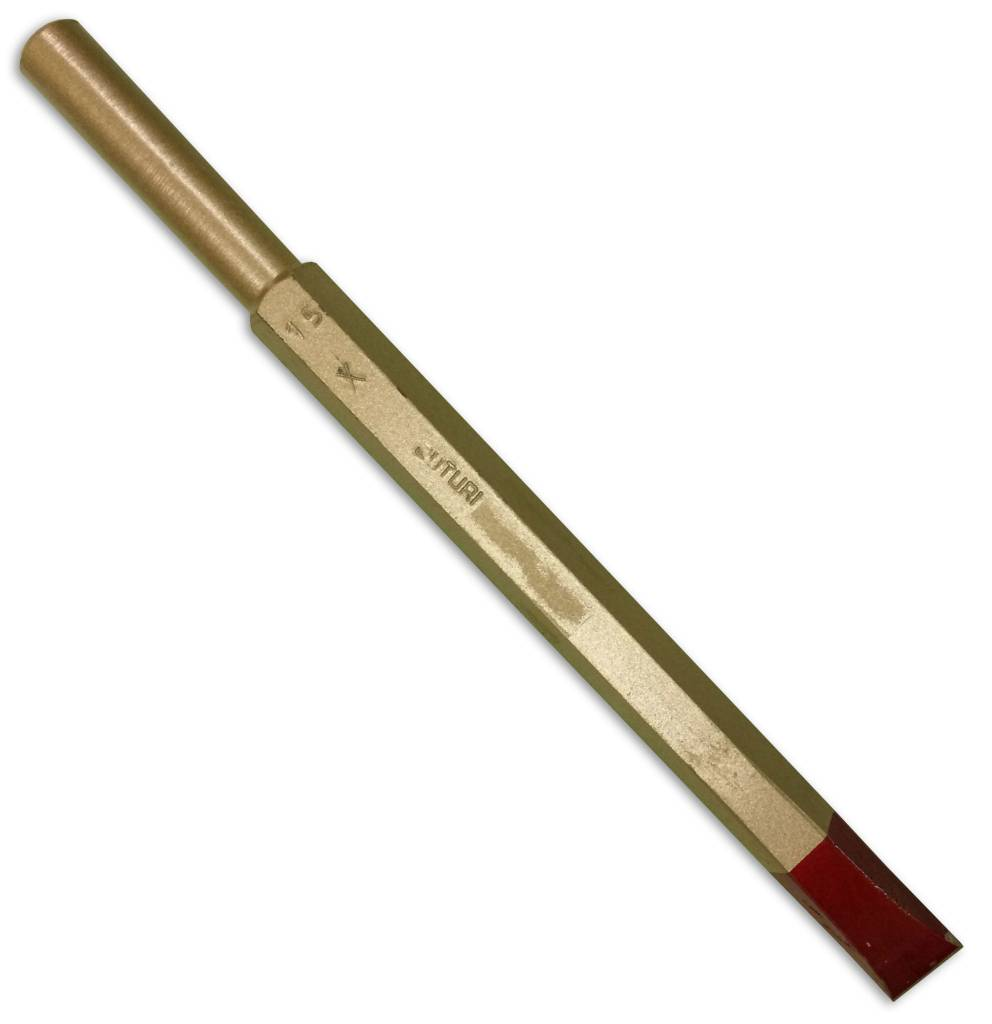 Cuturi Carbide Pneumatic Flat Chisel 15mm (12.5mm shank)