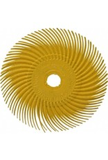 3M 3M Radial Bristle Disc 1'' Yellow 80Grit (24 Pack)