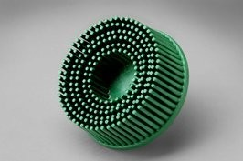 3M 3M ROLOC Bristle Brush 2'' Green 50 Grit