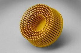 3M 3M ROLOC Bristle Brush 2'' Yellow 80 Grit