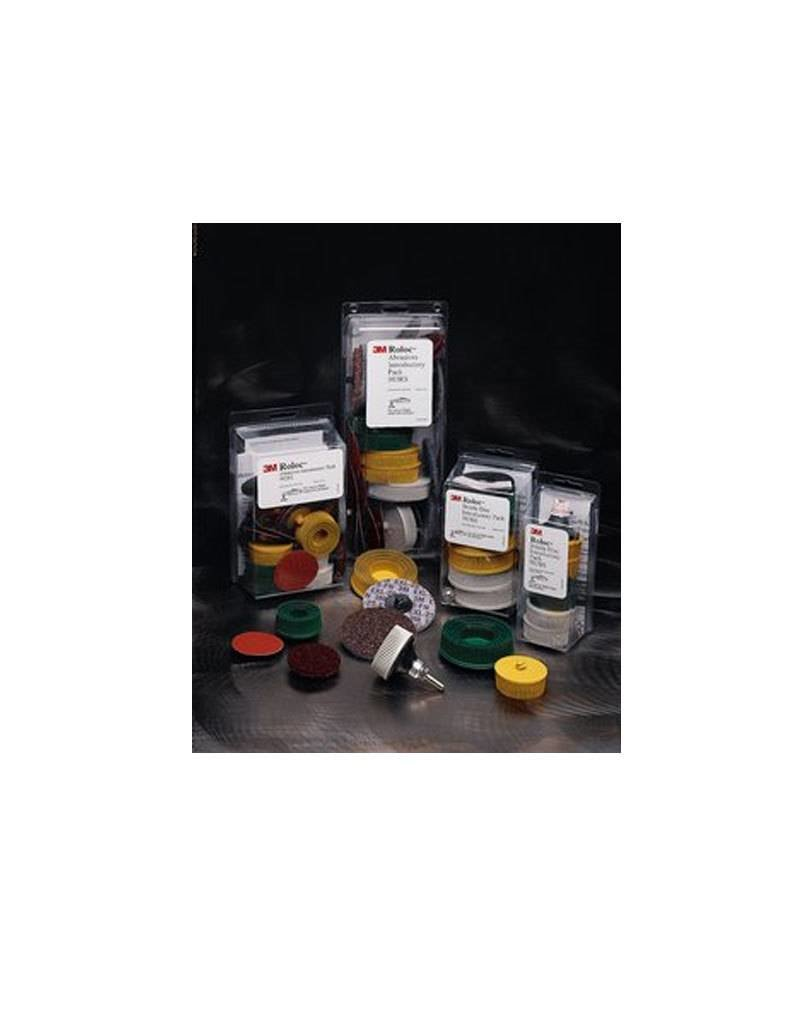 3M 3M ROLOC Abrasive Assortment 3''