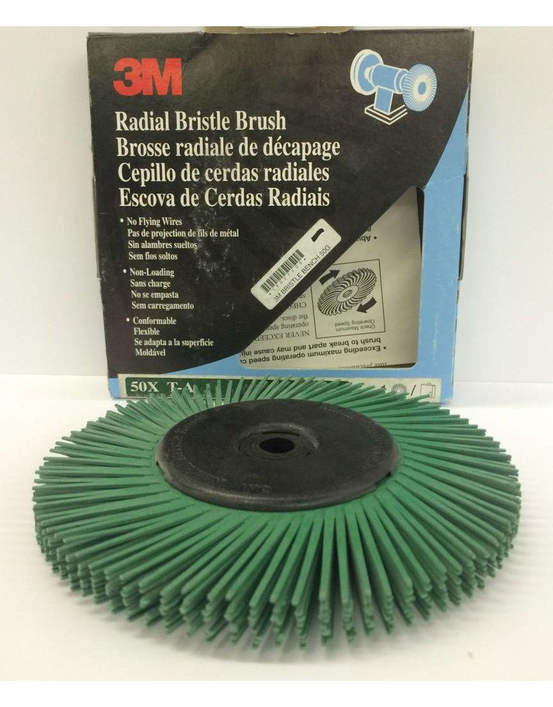 3M 3M Bristle Disc 6'' for the Bench Grinder Green 50 Grit