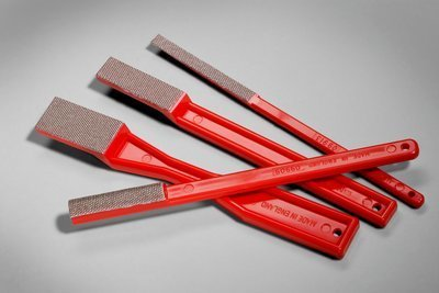 3M 3M Diamond File Style #1 Red 220 Grit
