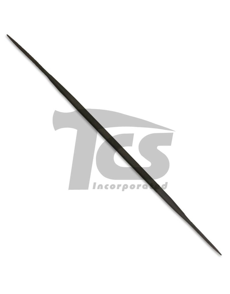 "Swiss/English Steel Riffler #990 6"""
