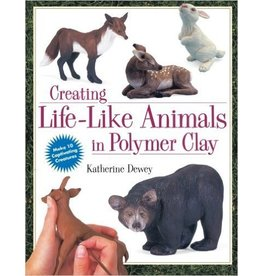 Creating Life-Like Animals in Polymer Clay Dewey Book