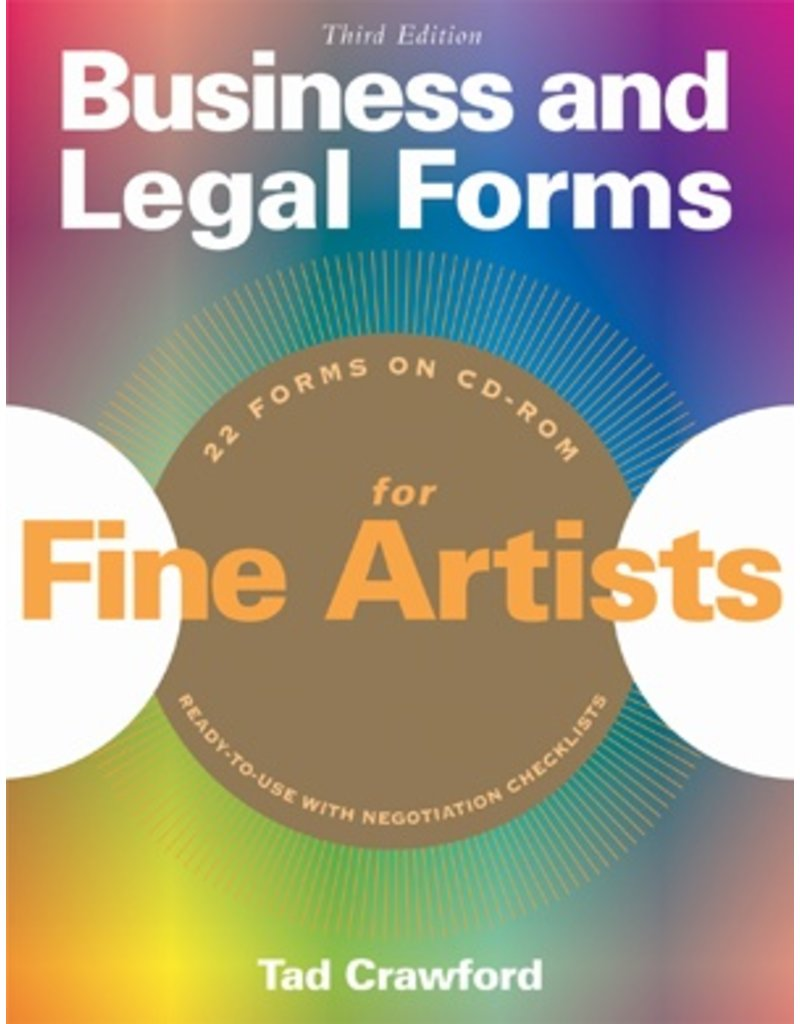 Business And Legal Forms For Fine Artists Book