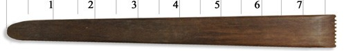 Sculpture House Hardwood Clay Tool #258L