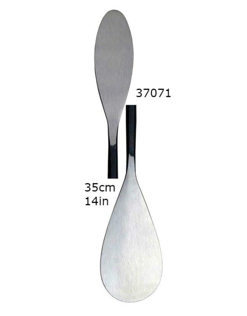 Milani Italian Steel Double Spatula Tool #A071 Super Large