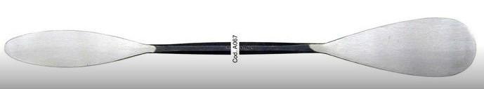 Milani Italian Steel Double Spatula Tool #A067 Large