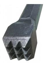 Milani Milani Steel Hand 9pt Bush 3/4'' (20mm) head