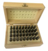 """6mm (1/4"""") Number And Letter Punch Set"""