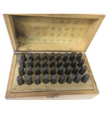 """8mm (5/16"""") Number And Letter Punch Set"""