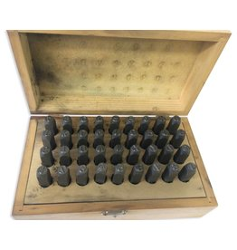 "8mm (5/16"") Number And Letter Punch Set"