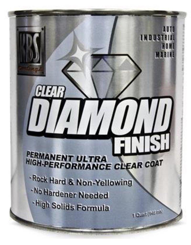 KBS Diamond Clear Finish Gloss Quart
