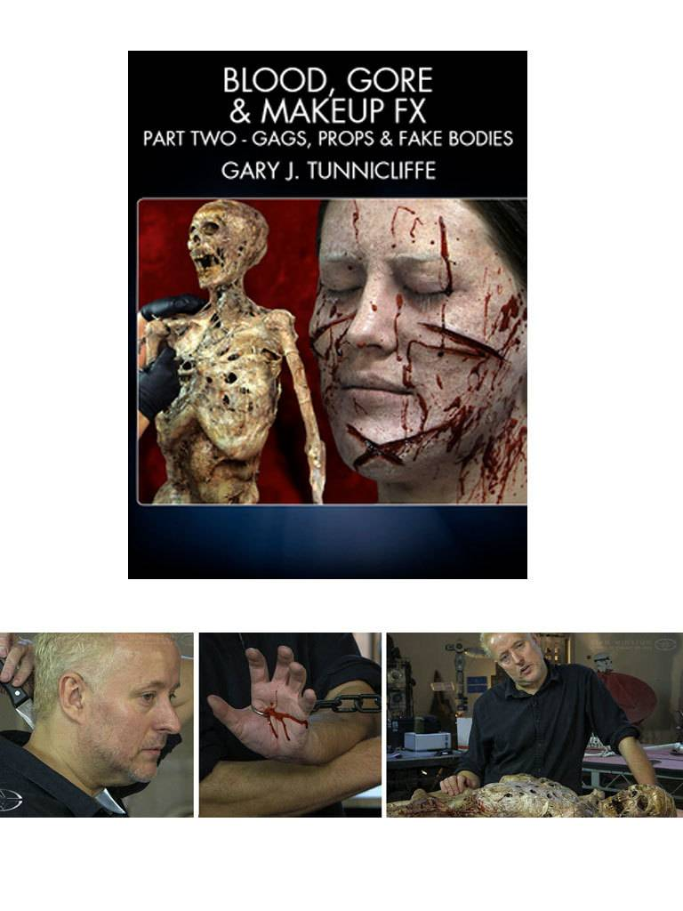 Stan Winston Blood,Gore,Makeup FX Part 2 Tunnicliffe DVD