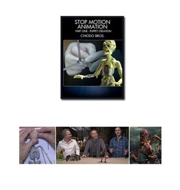 Stan Winston Stop Motion Animation Part 1 Chiodo Bros DVD