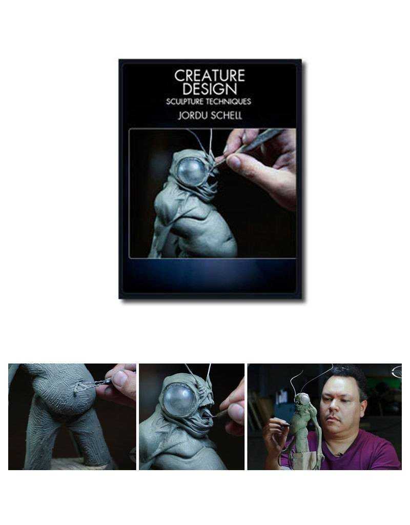 Stan Winston Creature Design Sculpture Techniques Schell DVD