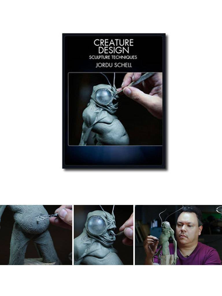Stan Winston Creature Design Sculpture Techniques Schell DVD