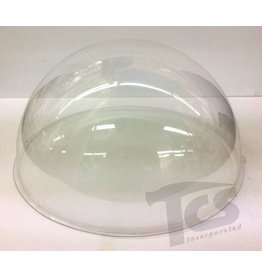 Clear Vinyl 1/2 Ball 12'' Diameter 60 gauge