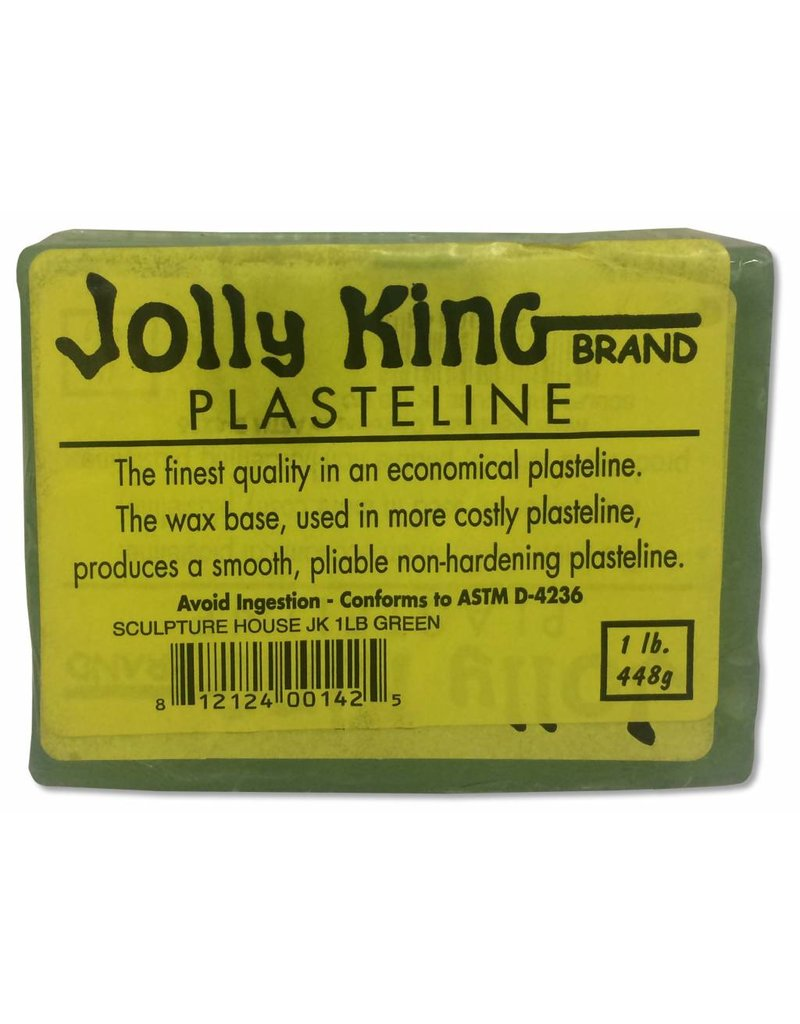 Sculpture House Inc. Jolly King Green Case of 48lbs (1lb blocks) Internet Special!!!