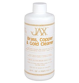 Jax Chemical Company Jax Brass, Copper & Gold Cleaner Pint (16oz)