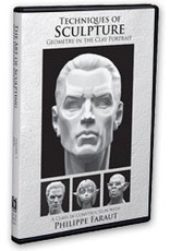 Faraut DVD #4: Techniques of Sculpture: Geometry in the Clay Portrait