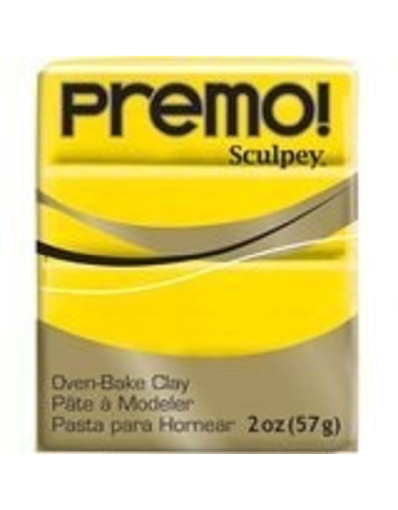 Polyform Premo Sculpey Cadmium Yellow 2oz