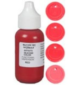 silicone art materials SAM Dispersion Red 4oz