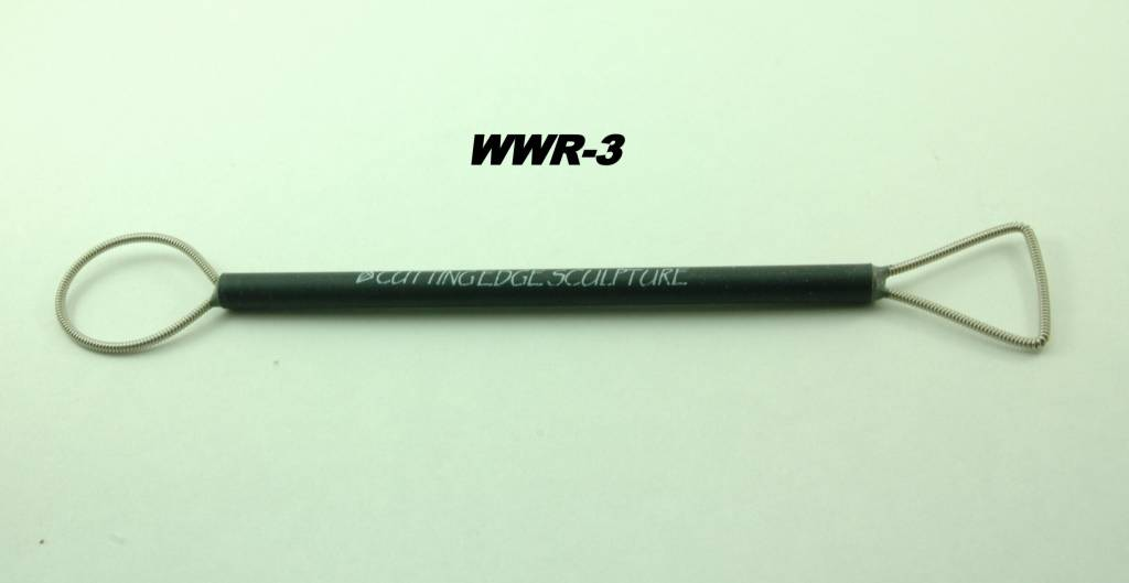 Large Wound Wire Rake #3