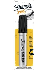Sanford Black Sharpie King Size Permanent Marker Carded