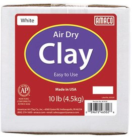 Amaco Amaco White 10 lb. Air Dry Clay 10 lb.