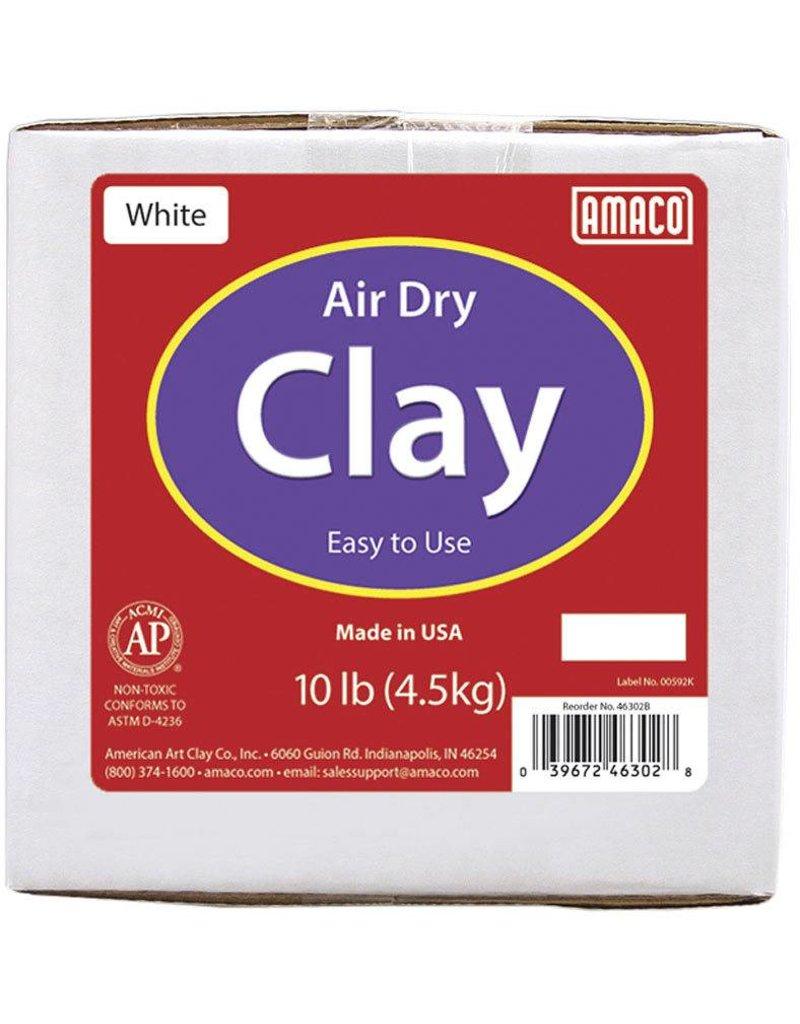 Amaco Amaco White 10 lb. Air Dry Clay 10 lb.