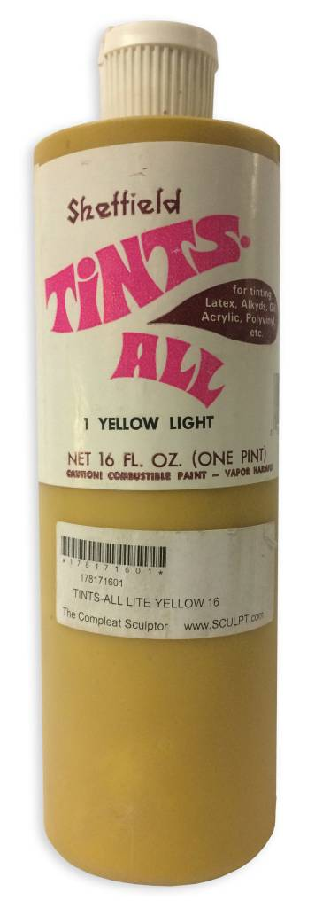 Tintsall Tints-All Lite Yellow #1 (16oz)