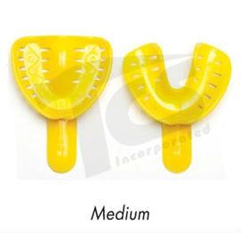 Dental Trays Medium Yellow (Set of 2)
