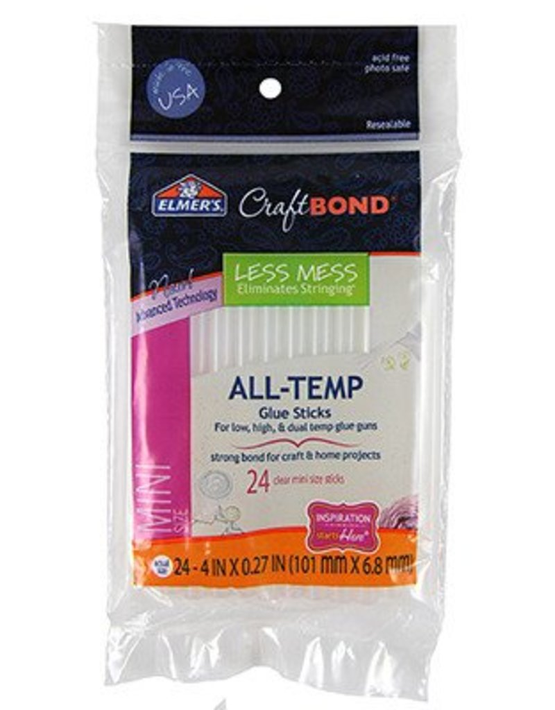 Elmer's Products Inc. Elmer's Mini Glue Sticks 5/16'' (24pcs)
